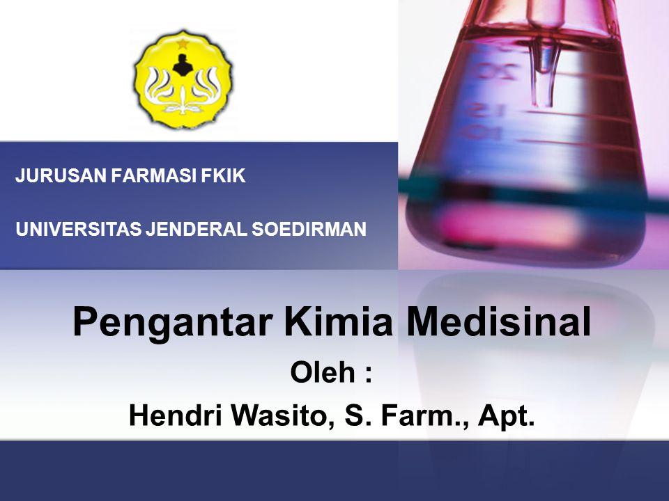 Pengantar Kimia Medisinal