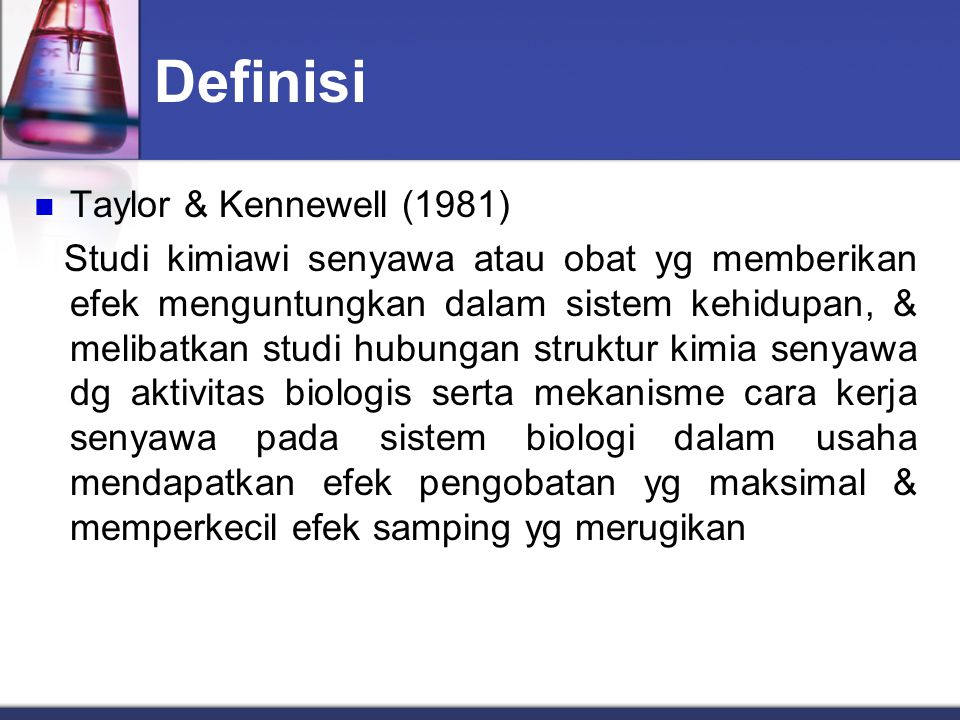 Definisi Taylor & Kennewell (1981)
