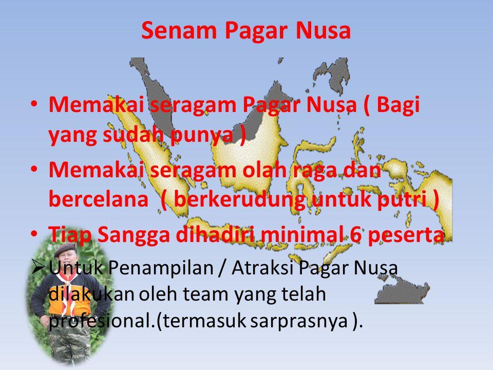 Senam Pagar Nusa Memakai seragam Pagar Nusa ( Bagi yang sudah punya )