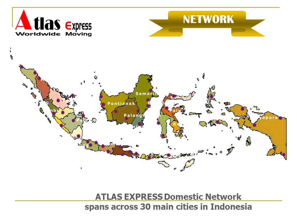 ATLAS EXPRESS Domestic Network