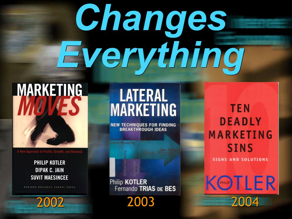 Changes Everything 2002 2003 2004