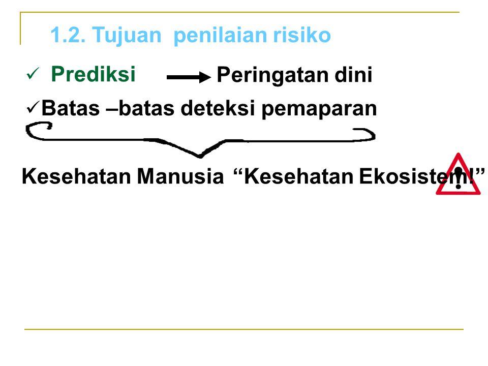 1.2. Tujuan penilaian risiko
