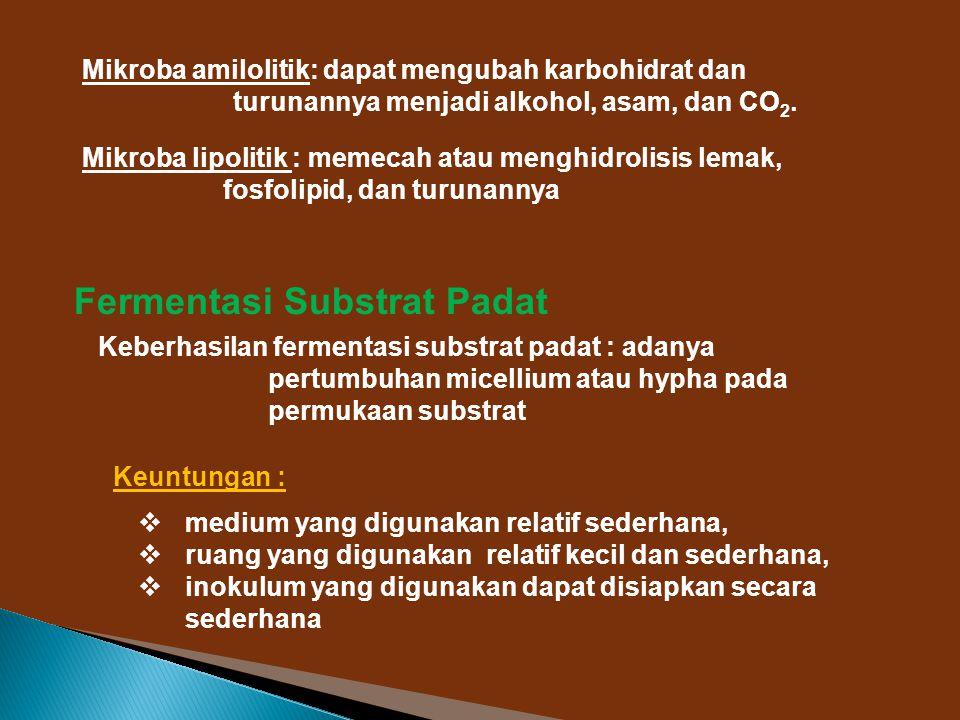 Fermentasi Substrat Padat
