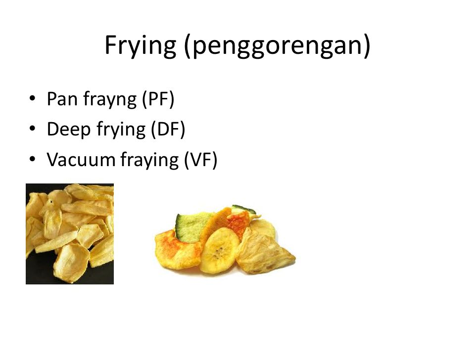 Frying (penggorengan)