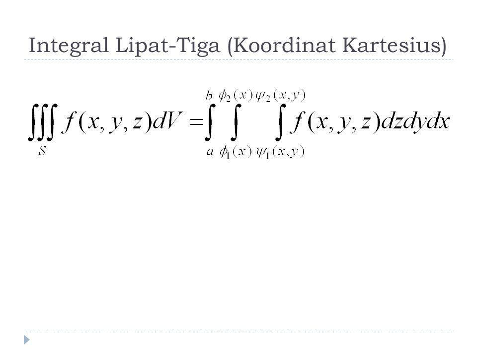 Integral Lipat-Tiga (Koordinat Kartesius)