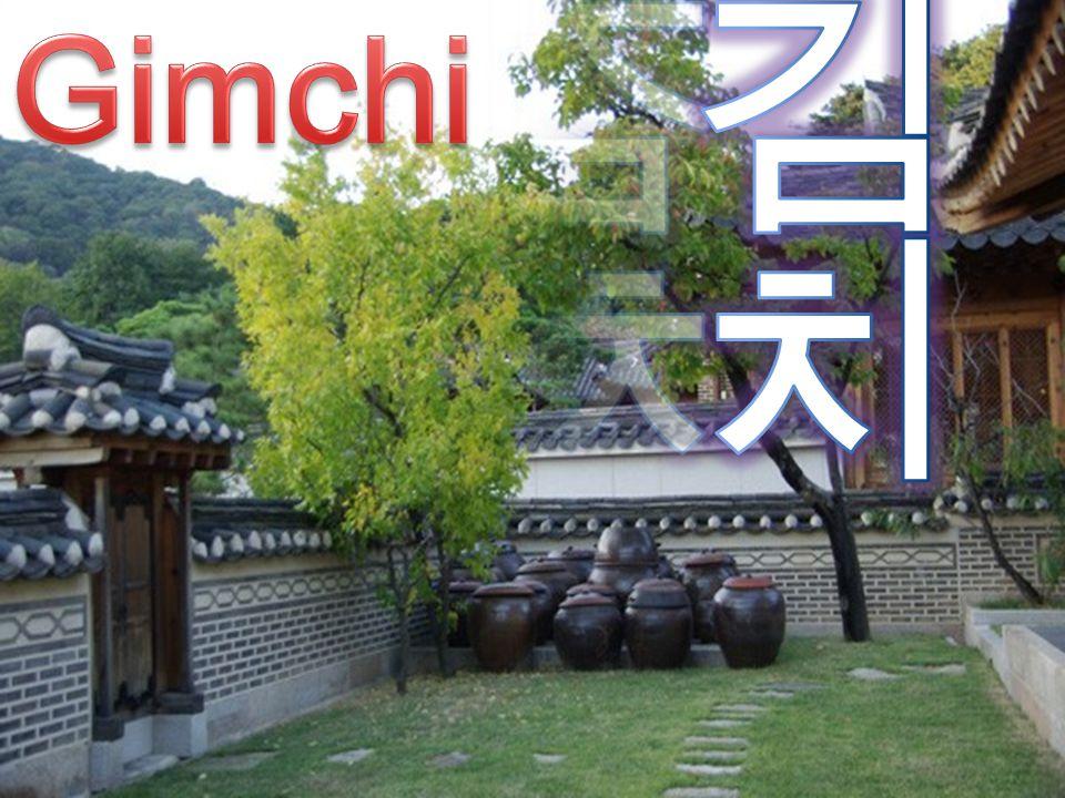 Gimchi 김치