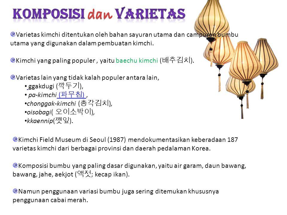Komposisi dan Varietas