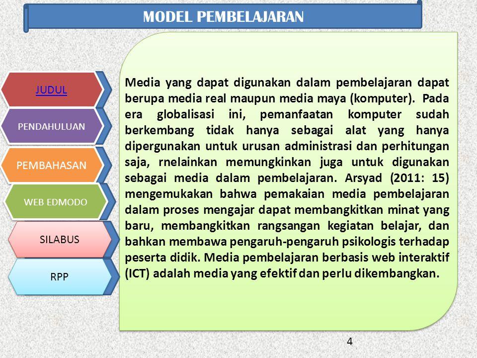 Media yang dapat digunakan dalam pembelajaran dapat berupa media real maupun media maya (komputer).