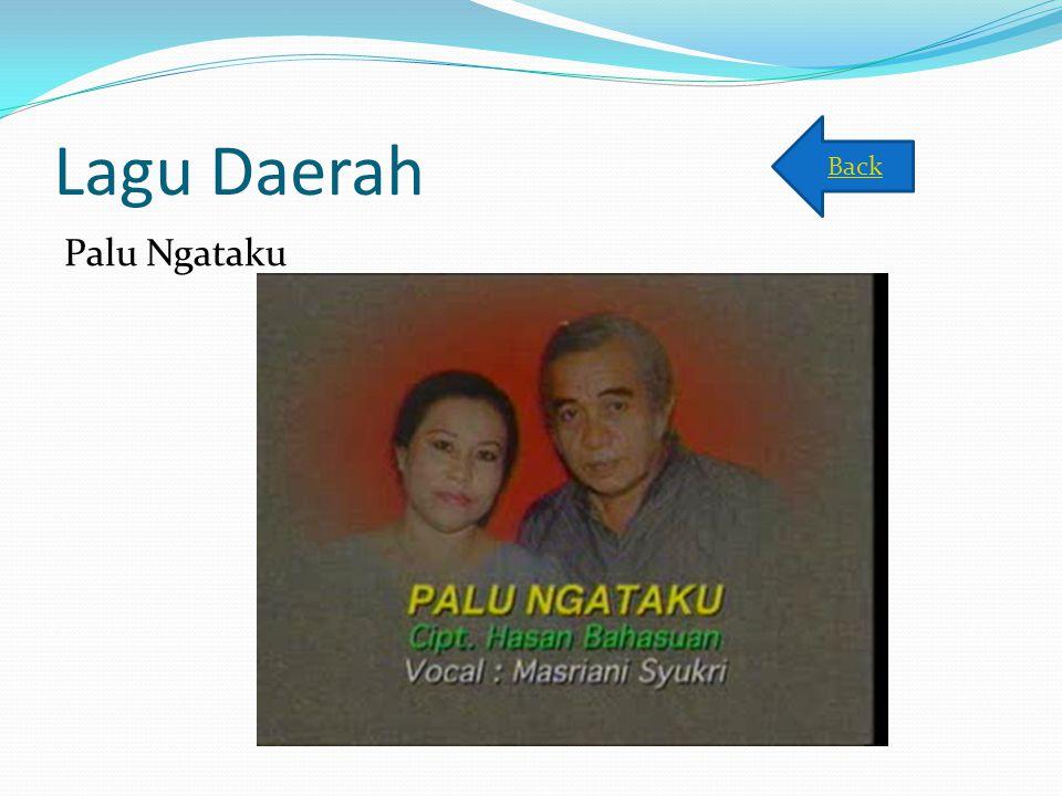 Lagu Daerah Back Palu Ngataku