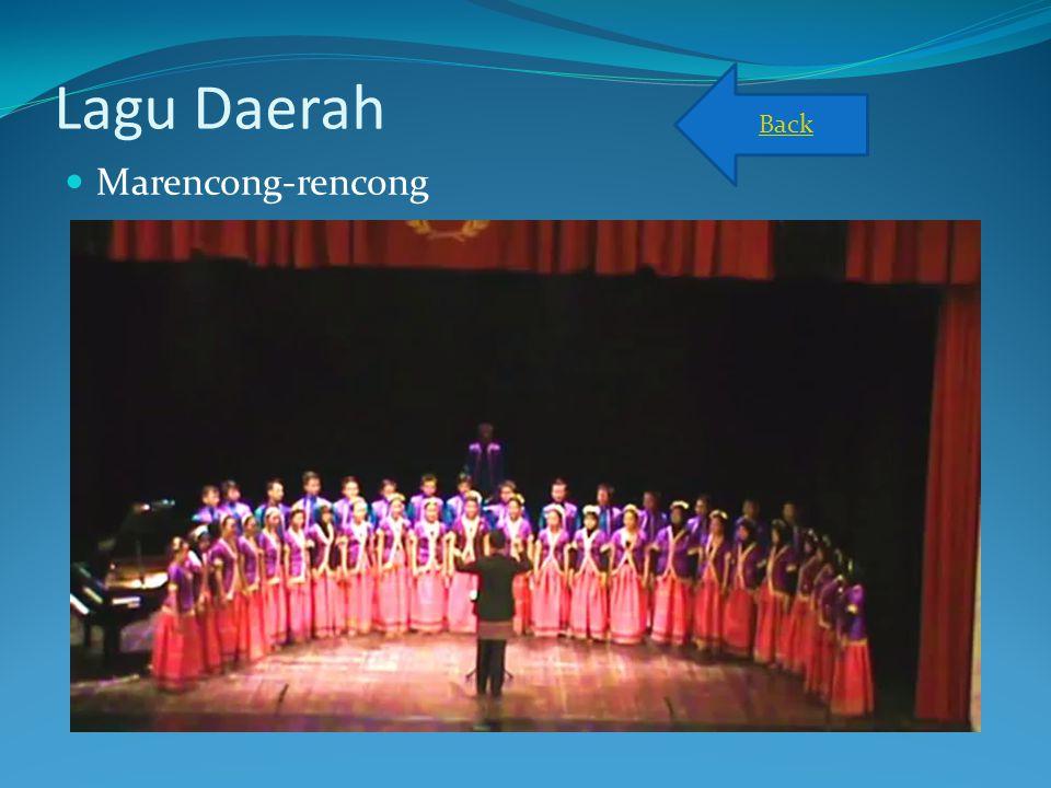 Back Lagu Daerah Marencong-rencong