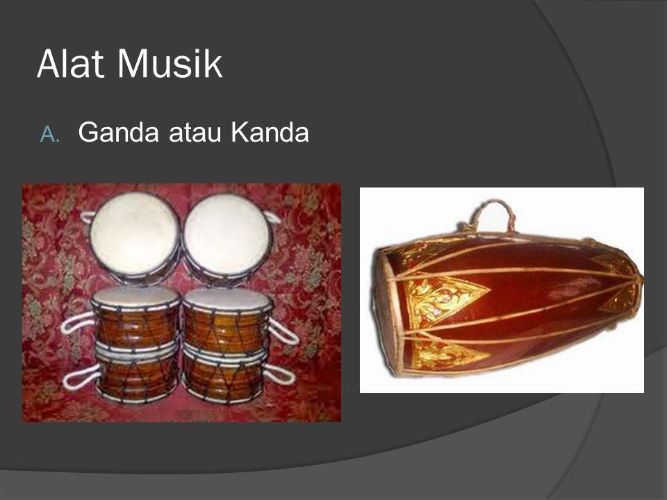 Alat Musik Ganda atau Kanda