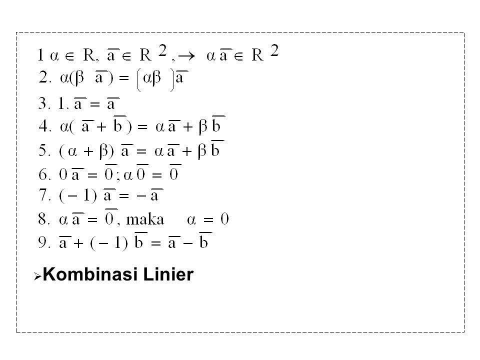 Kombinasi Linier