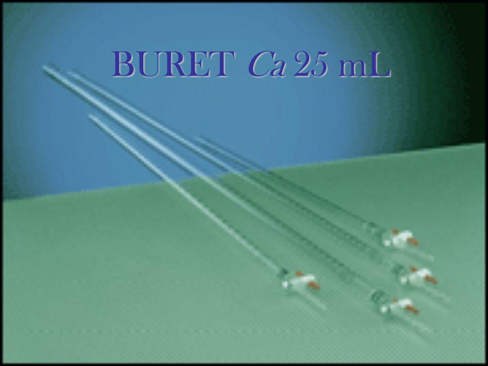 BURET Ca 25 mL