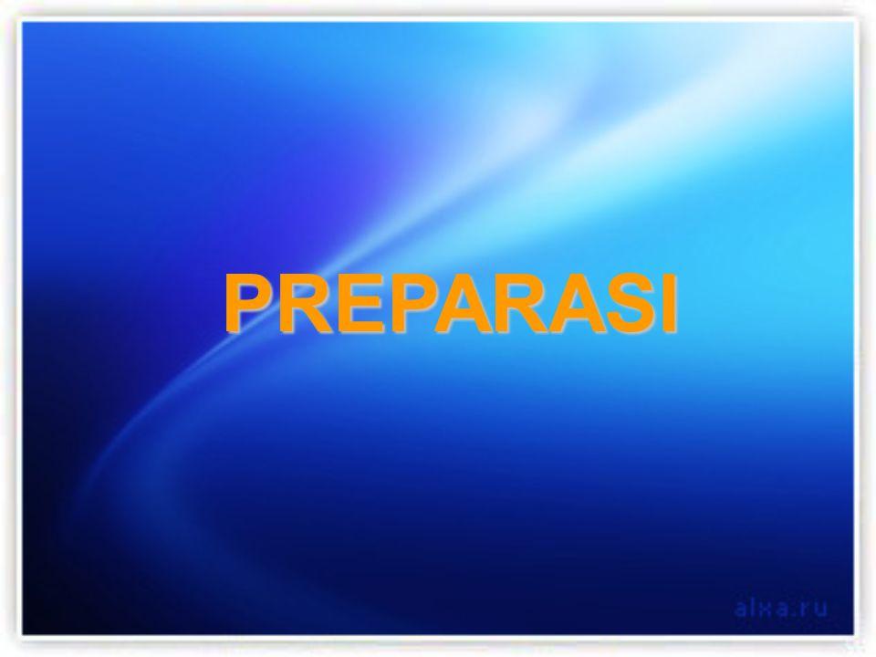 PREPARASI