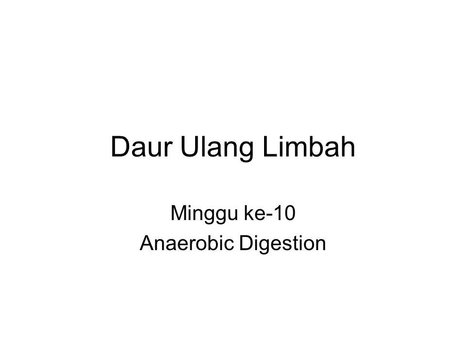 Minggu ke-10 Anaerobic Digestion