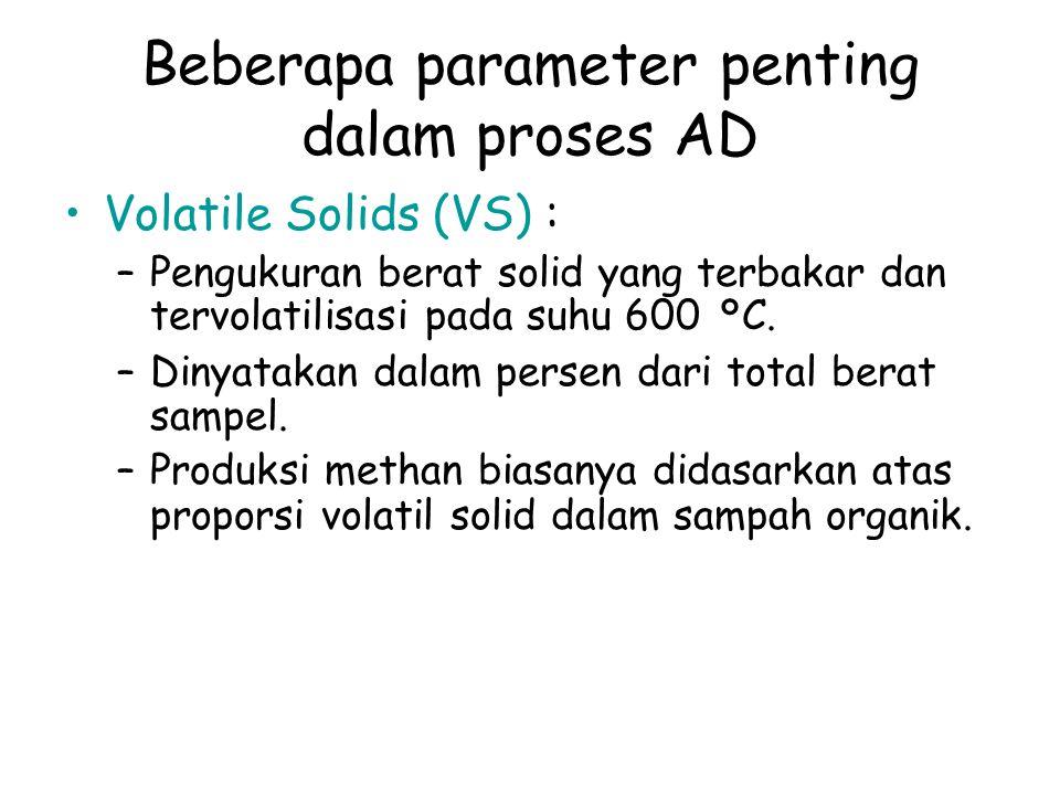 Beberapa parameter penting dalam proses AD