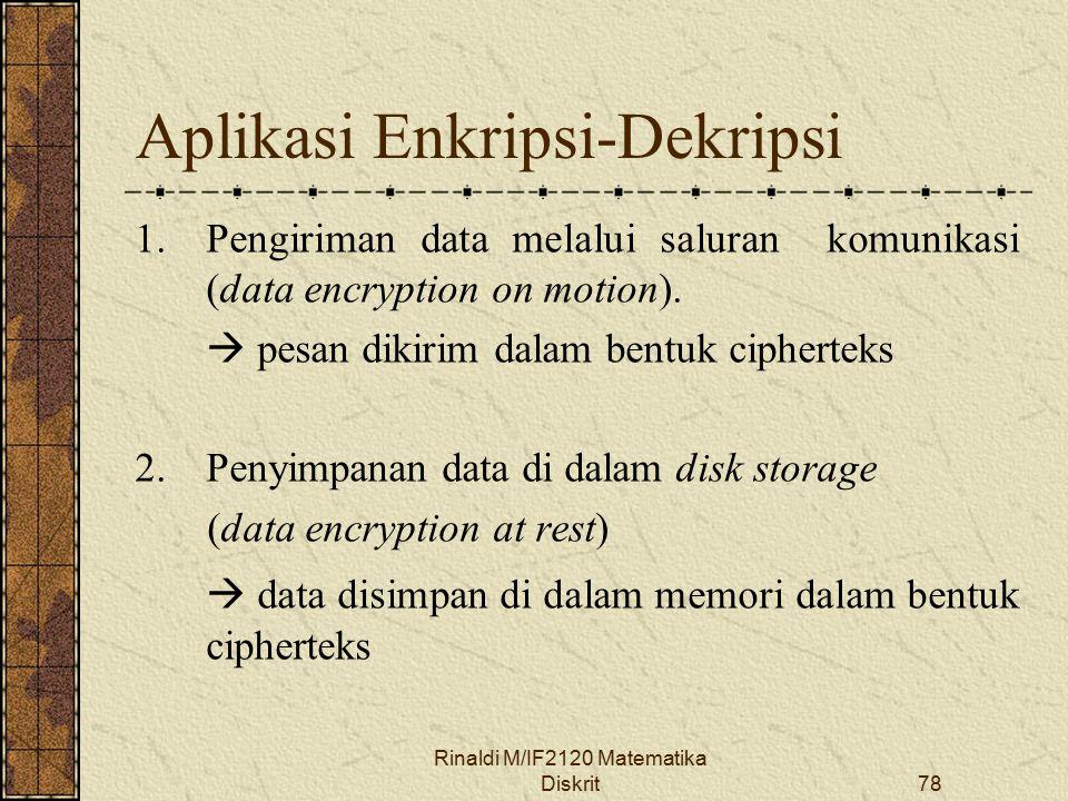 Aplikasi Enkripsi-Dekripsi