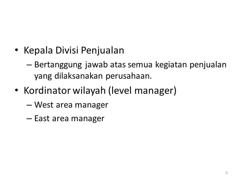 Kepala Divisi Penjualan