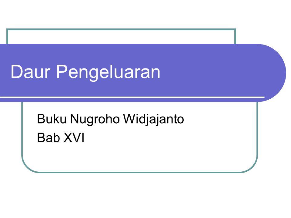 Buku Nugroho Widjajanto Bab XVI