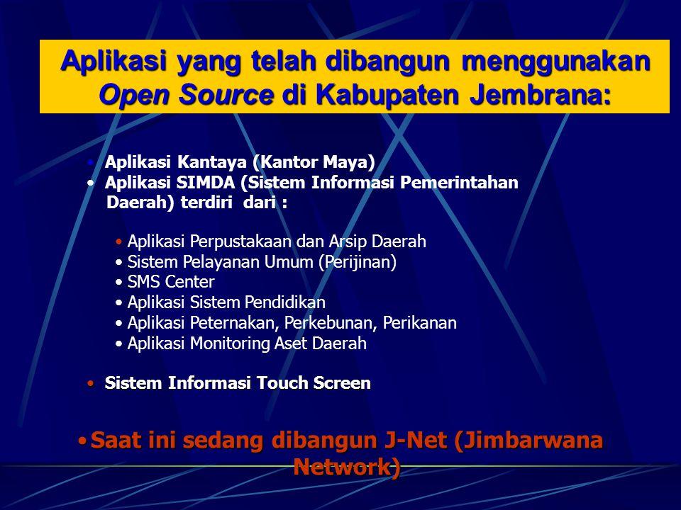 Saat ini sedang dibangun J-Net (Jimbarwana Network)