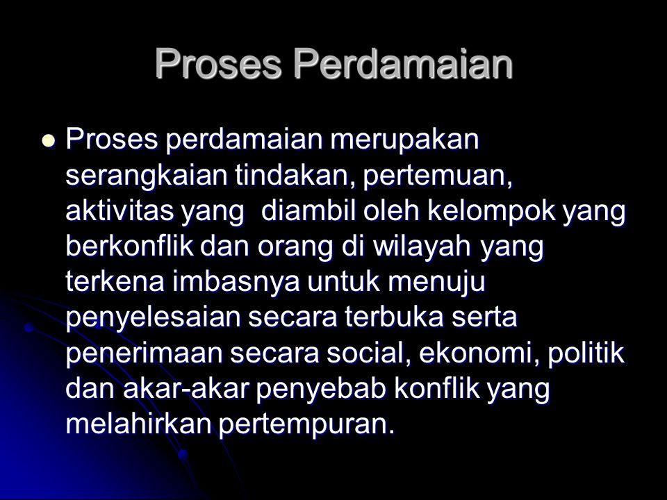 Proses Perdamaian