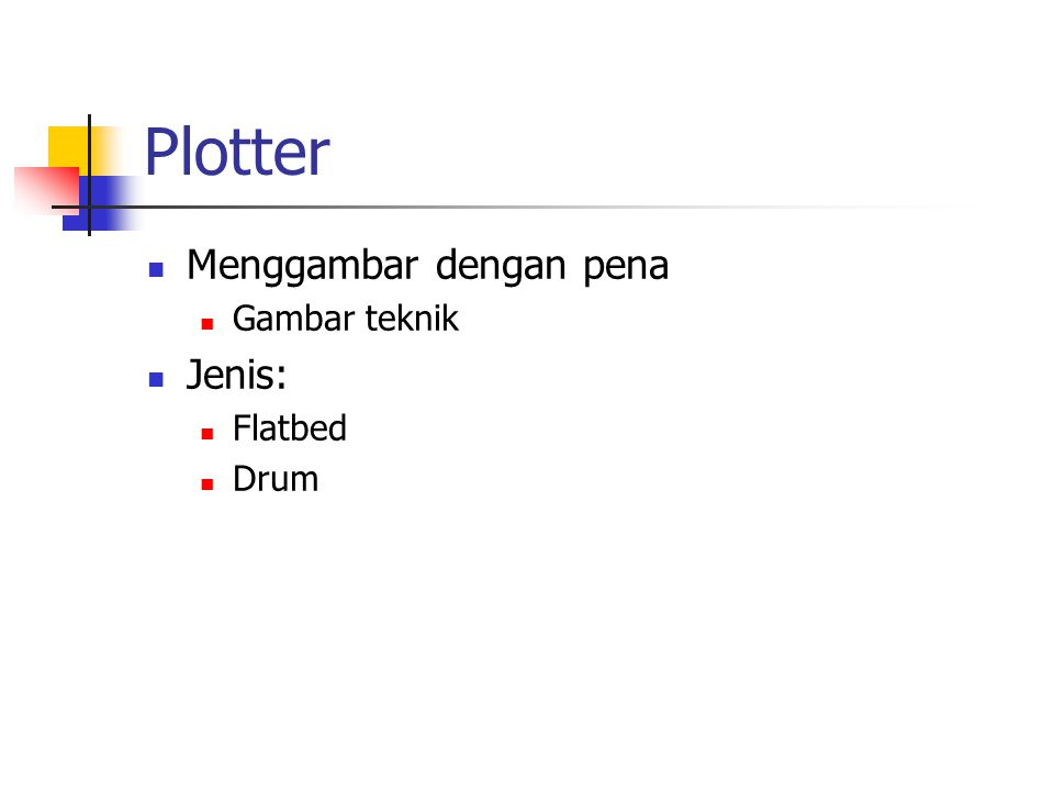 Plotter Menggambar dengan pena Gambar teknik Jenis: Flatbed Drum
