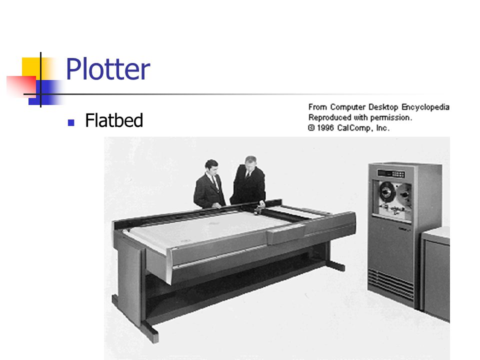 Plotter Flatbed
