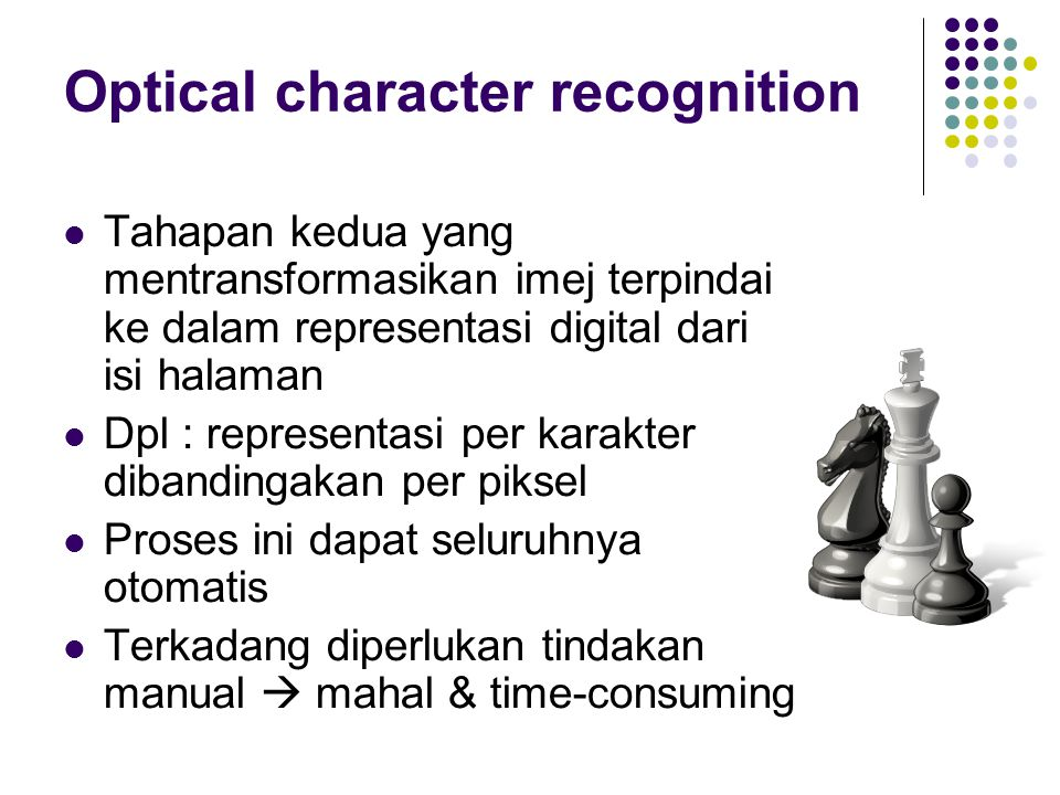 Optical character recognition