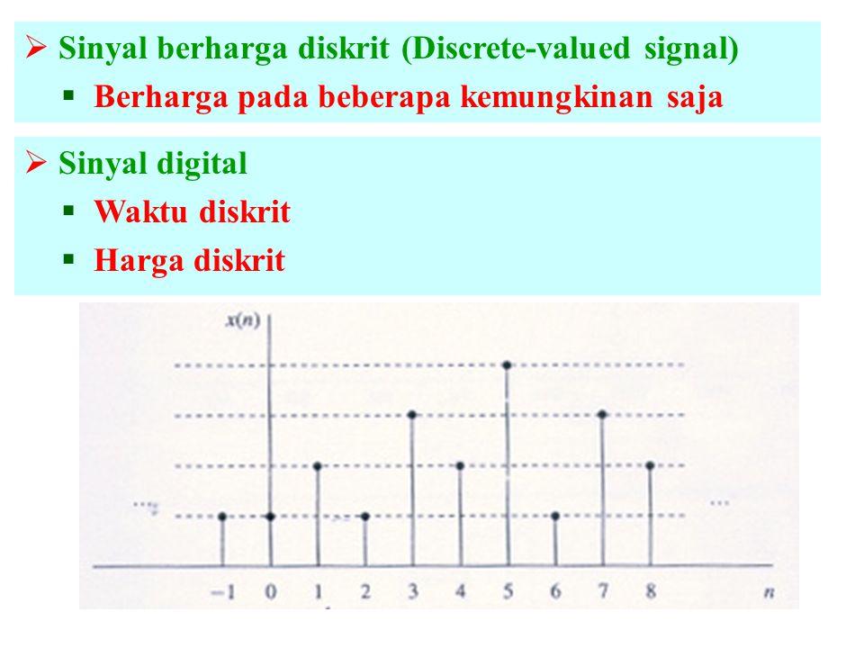 Sinyal berharga diskrit (Discrete-valued signal)