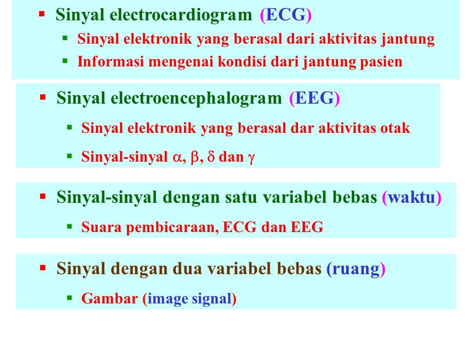 Sinyal electrocardiogram (ECG)
