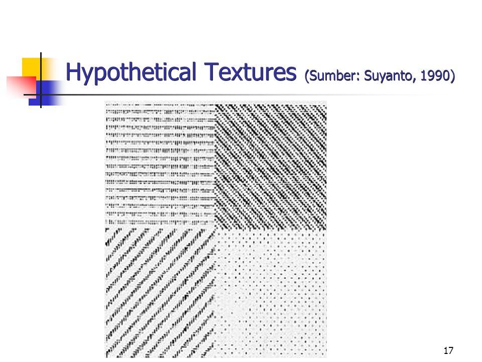 Hypothetical Textures (Sumber: Suyanto, 1990)
