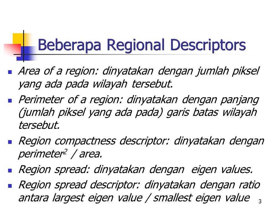 Beberapa Regional Descriptors