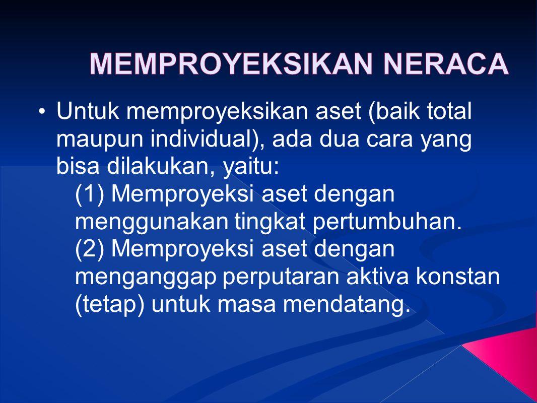 MEMPROYEKSIKAN NERACA