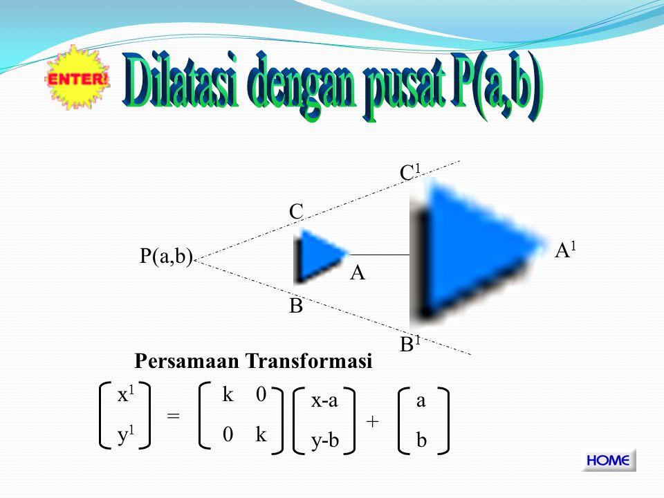 Dilatasi dengan pusat P(a,b)