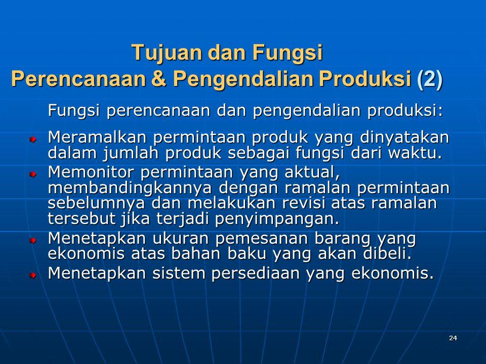Tujuan dan Fungsi Perencanaan & Pengendalian Produksi (2)