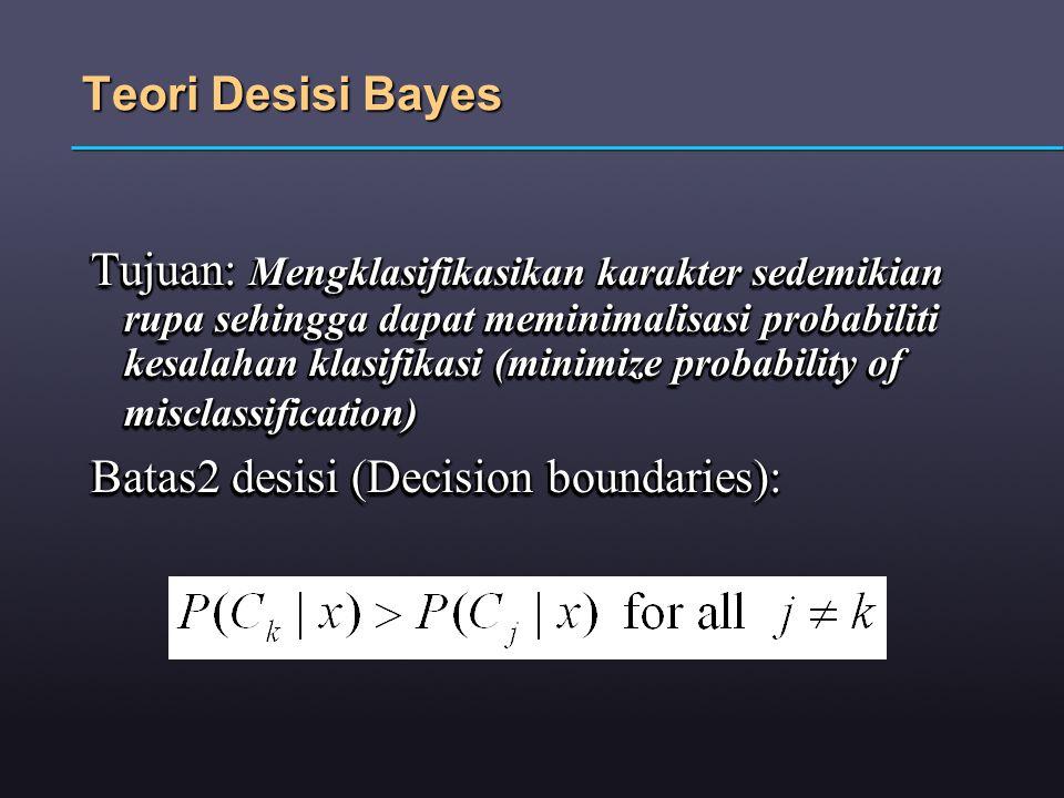 Teori Desisi Bayes