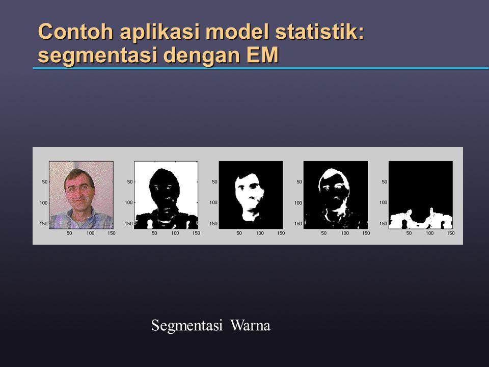 Contoh aplikasi model statistik: segmentasi dengan EM