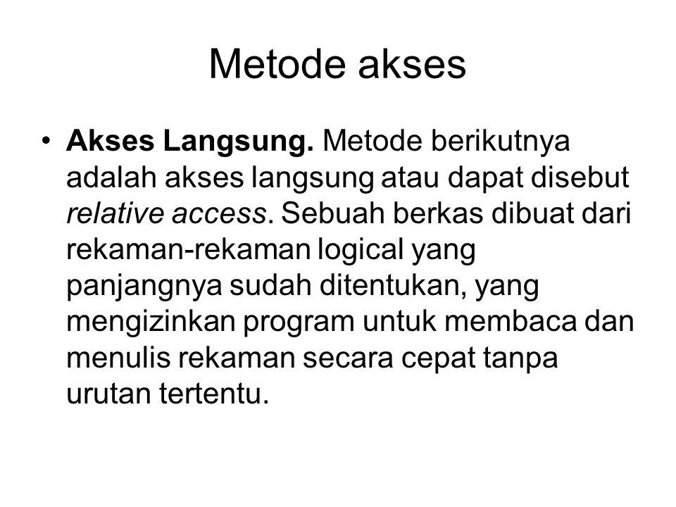 Metode akses