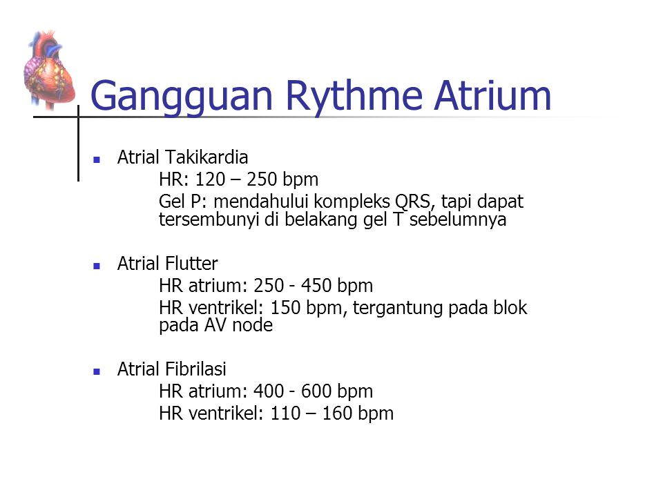 Gangguan Rythme Atrium