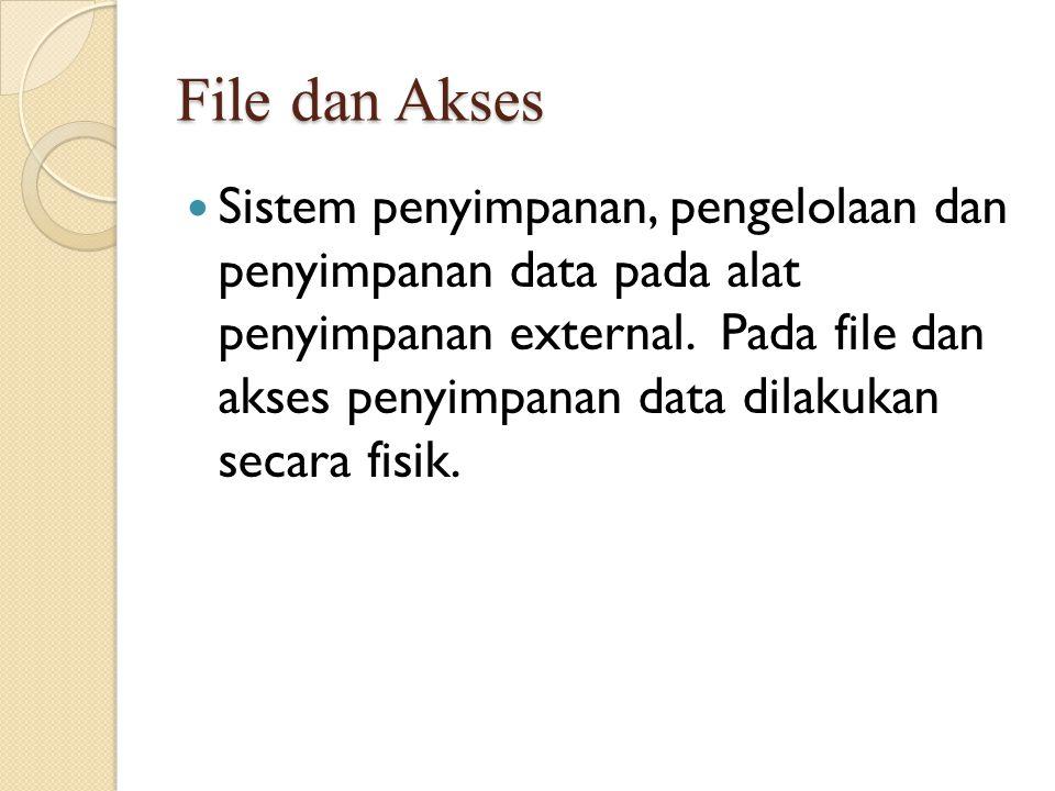 File dan Akses