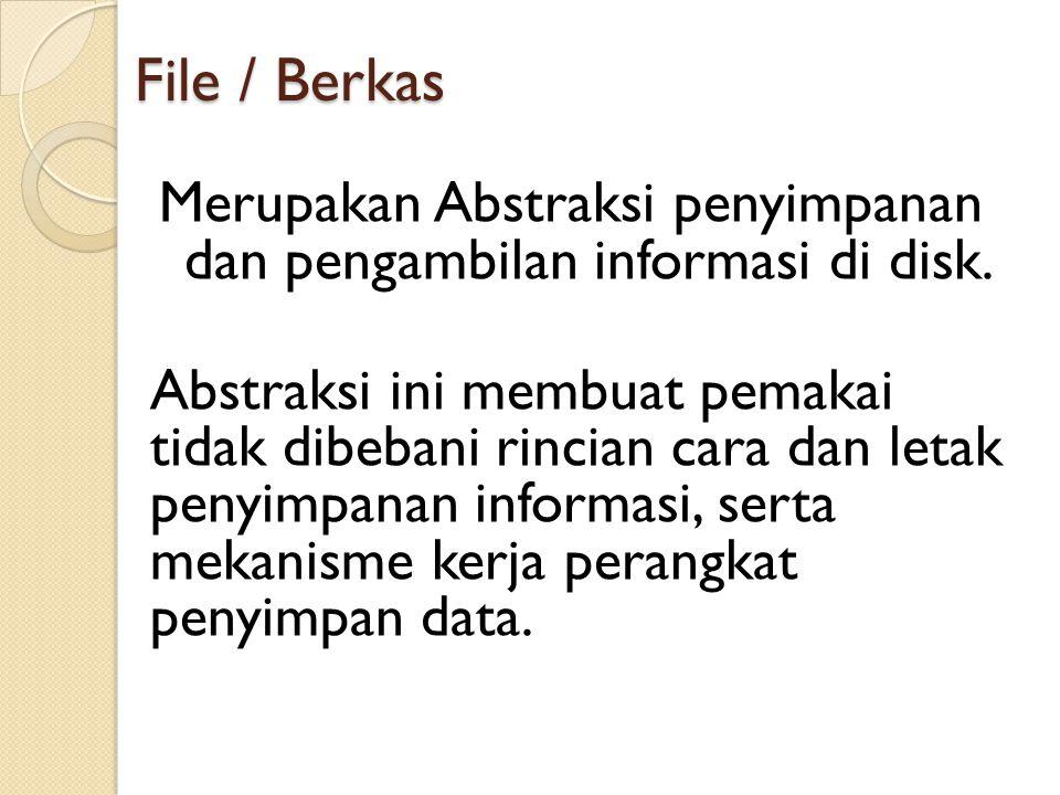 File / Berkas