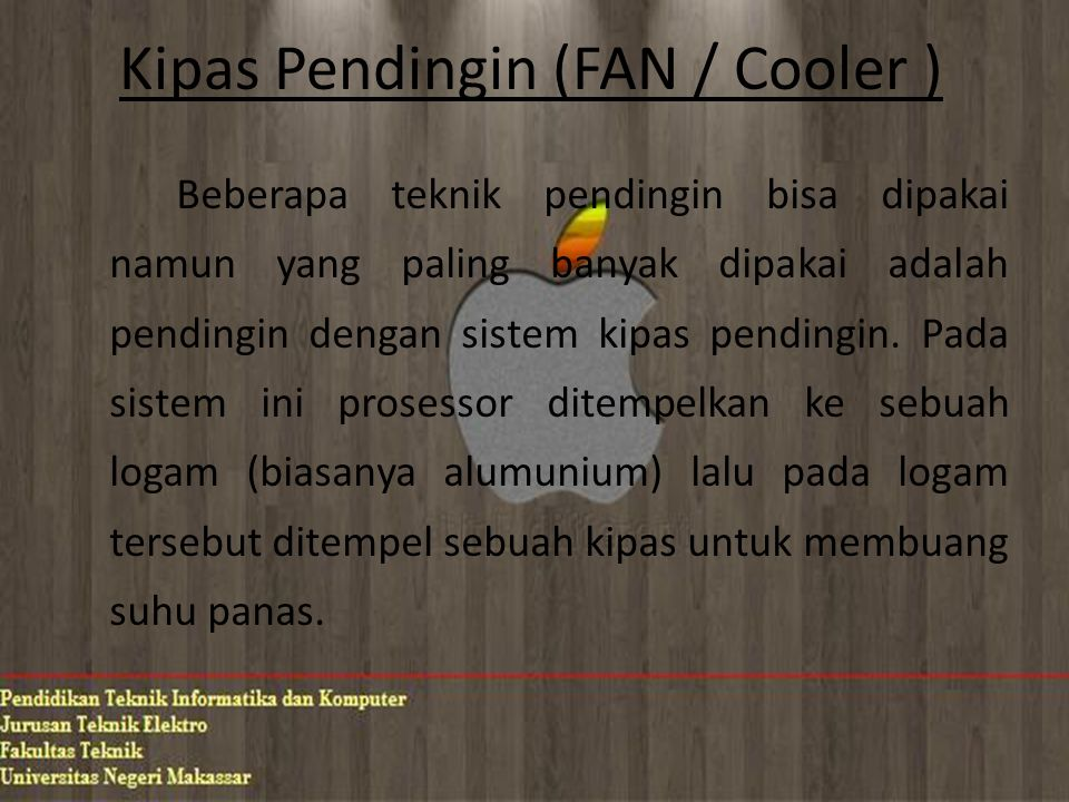 Kipas Pendingin (FAN / Cooler )