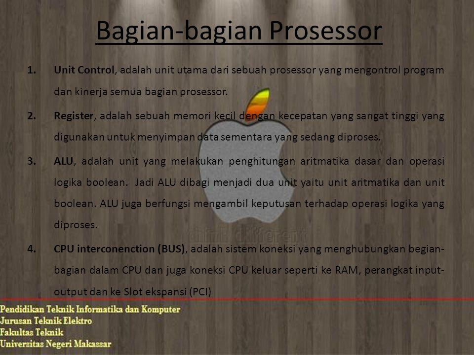 Bagian-bagian Prosessor