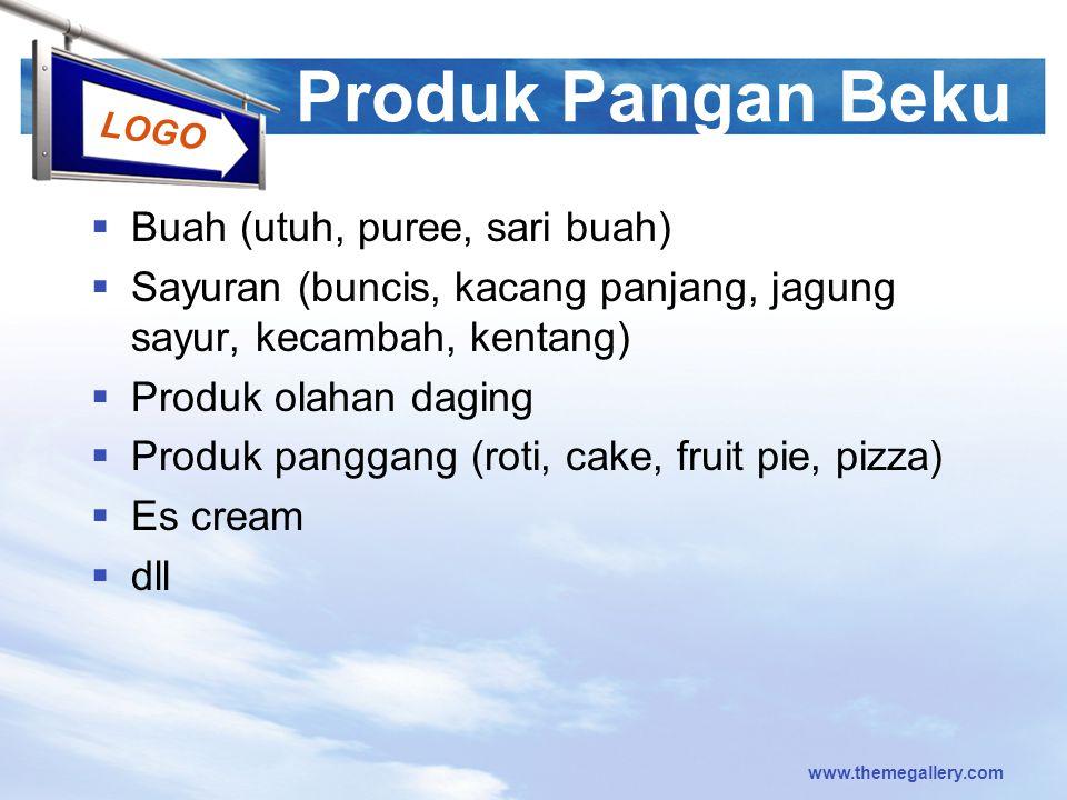 Produk Pangan Beku Buah (utuh, puree, sari buah)