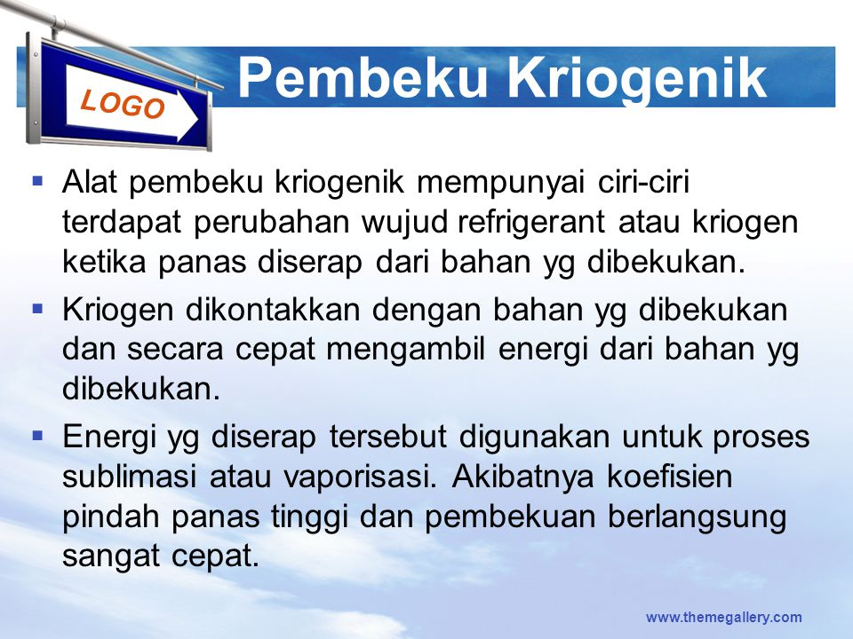 Pembeku Kriogenik