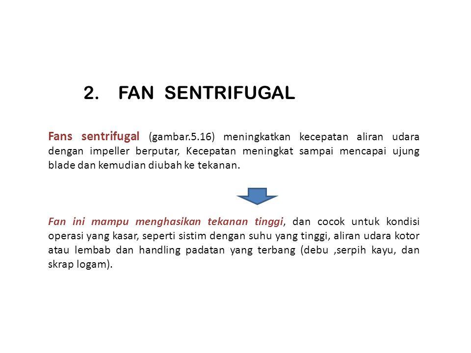 2. FAN SENTRIFUGAL