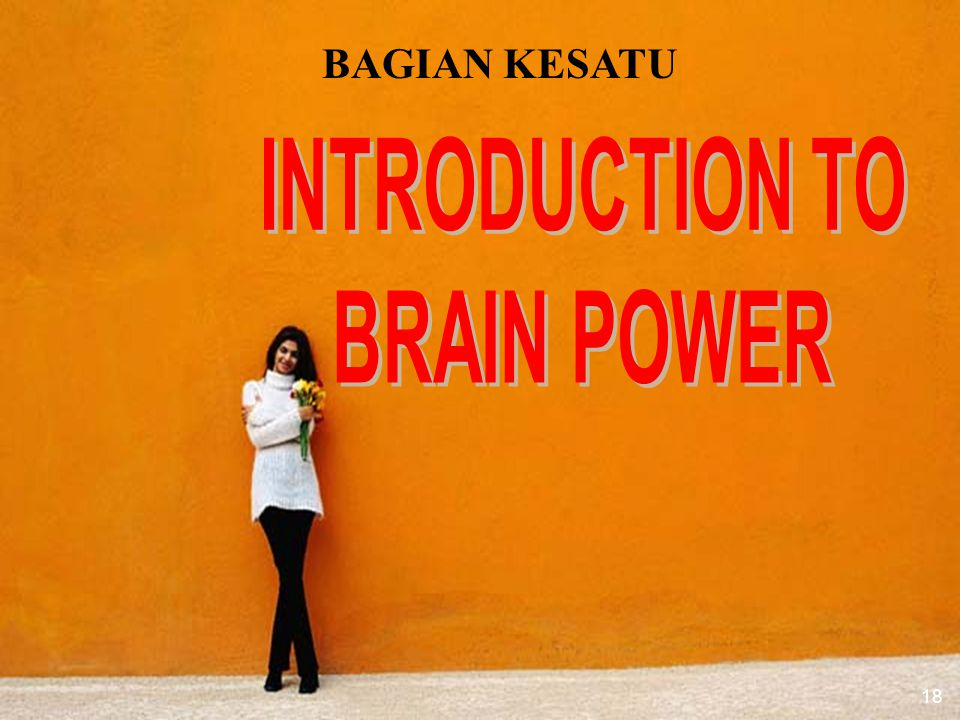 INTRODUCTION TO BRAIN POWER
