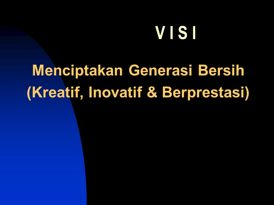 Menciptakan Generasi Bersih (Kreatif, Inovatif & Berprestasi)