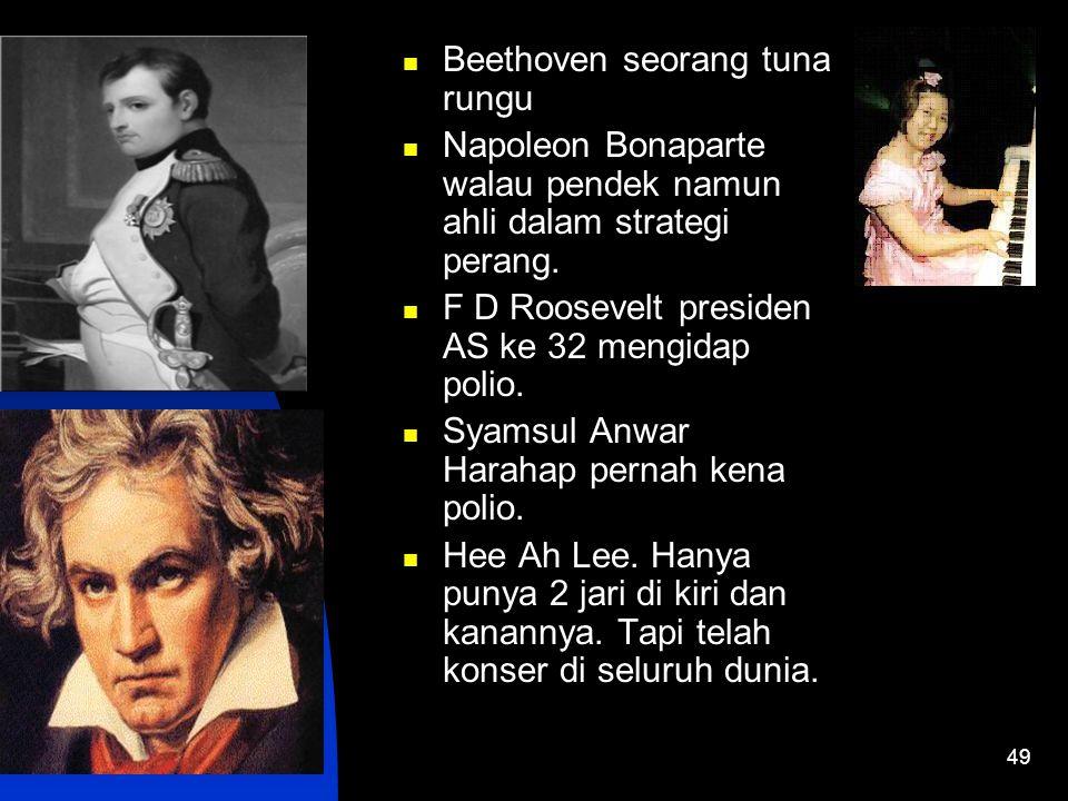 Beethoven seorang tuna rungu