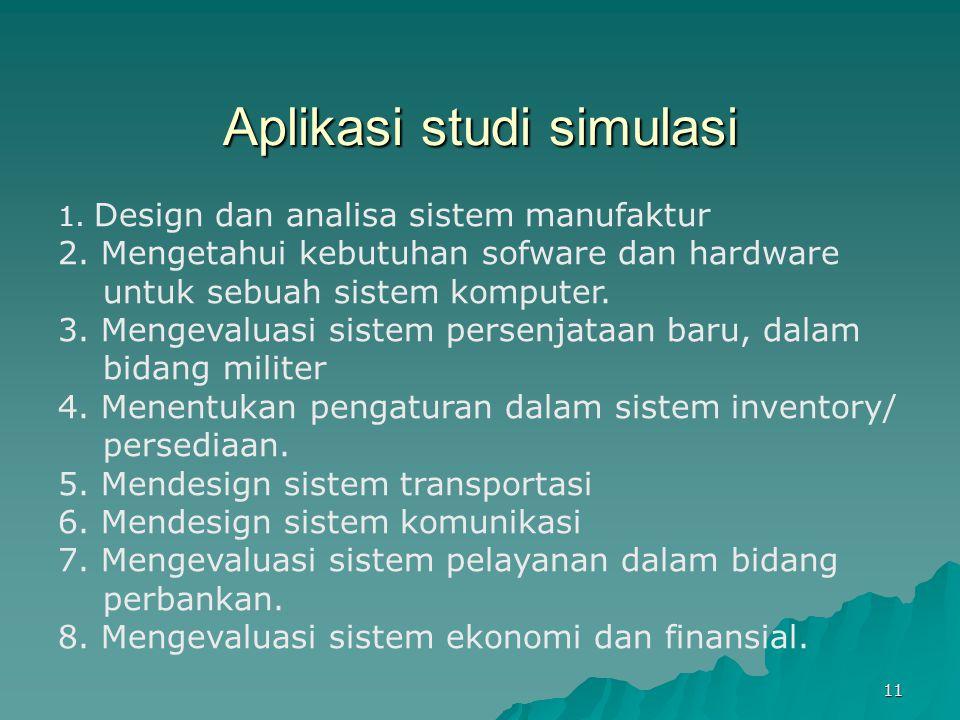 Aplikasi studi simulasi